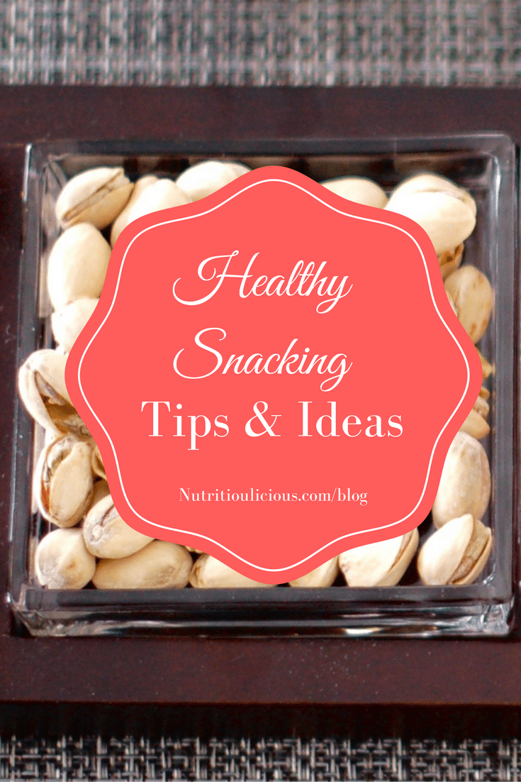 Healthy snacking is an integral part of a healthy diet. Find out why it's important, how to do it, and get some healthy snack ideas to get started @jlevinsonrd.