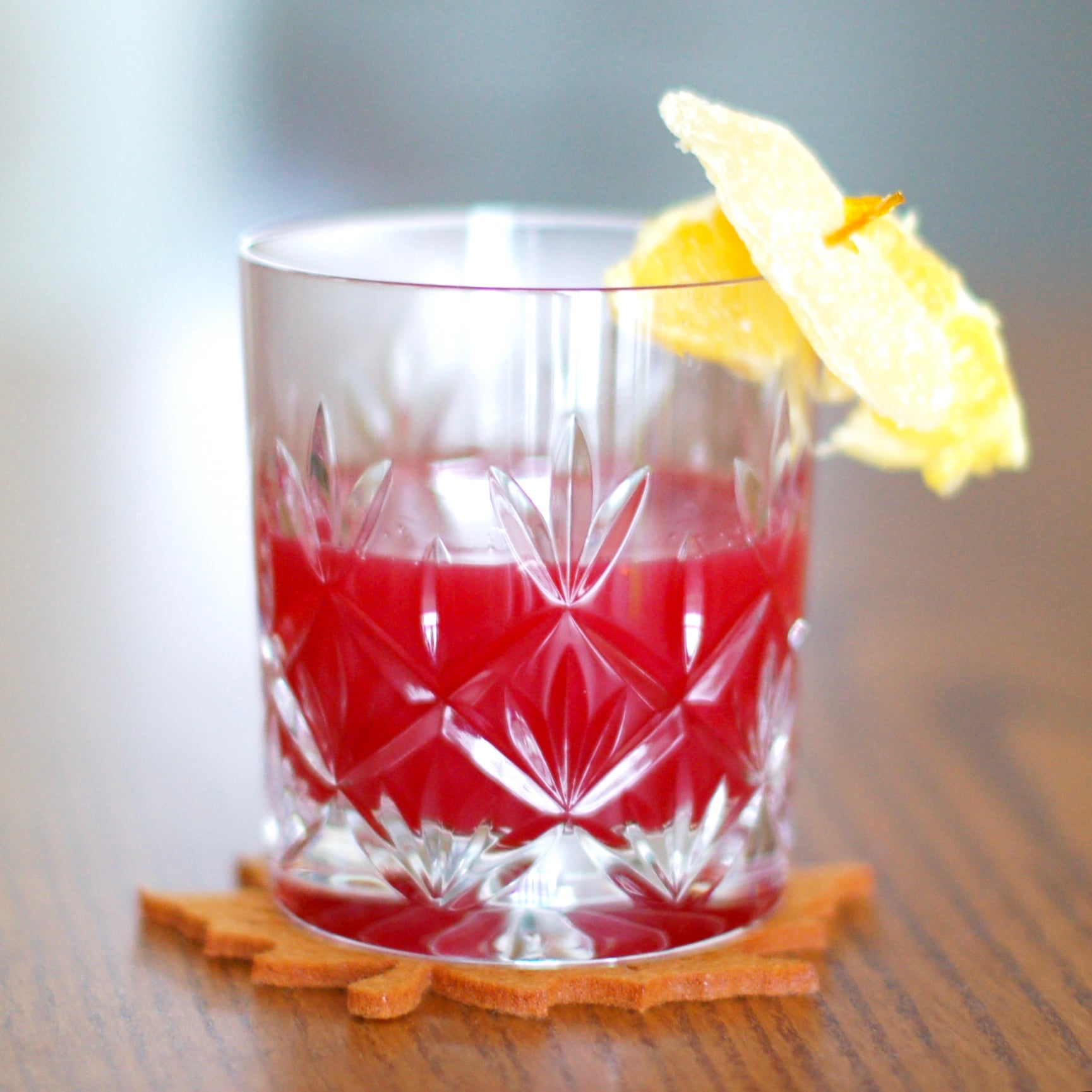 Warm up with a Cran-Toddy, a cranberry cider cocktail recipe to enjoy all winter long!