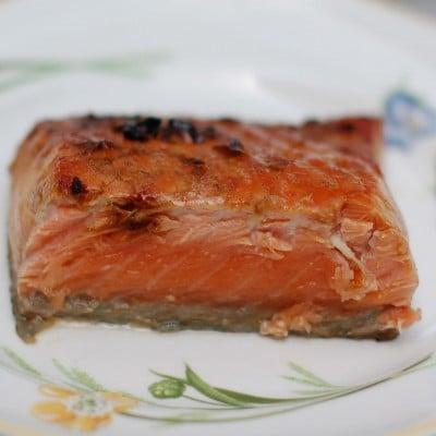 Sherry Maple Glazed Salmon