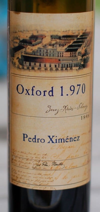 Pedro Ximénez sherry