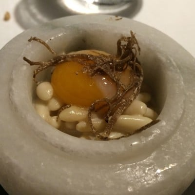 pine nut risotto abac barcelona