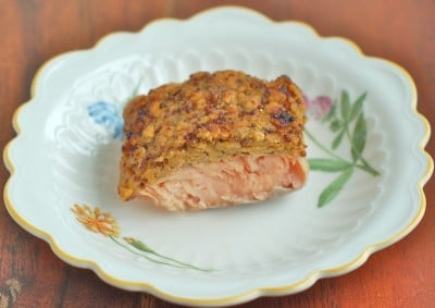 crusted salmon gluten free