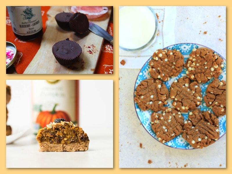 healthier peanut butter desserts