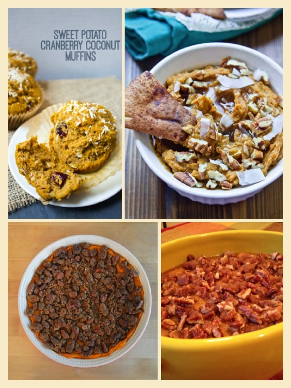sweet potato dessert recipes