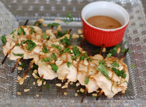 how to make satay sauce out of peanut butter