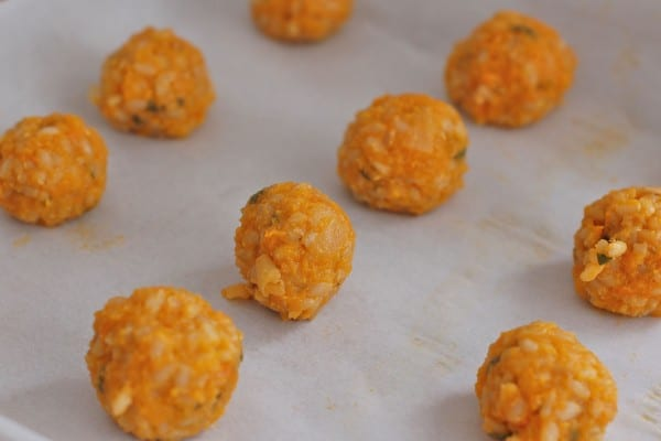 arancini risotto balls