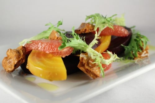 Passover Citrus Beet Salad by Chef Gabe Garcia