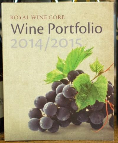 Royal Wine Corps Wine Portfolio 2014-2015