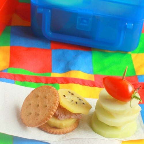 Cracker Stackers @ Teaspoon of Spice - Back to School Meal Planning