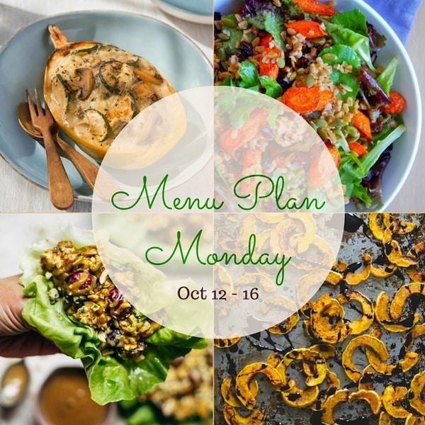 Nutritioulicious Menu Plan Monday Week of October 12, 2015