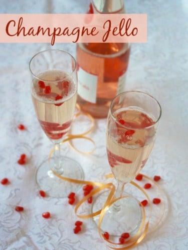 Champagne Jello @tspcurry