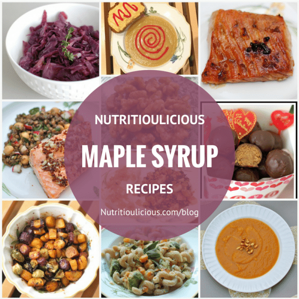 Nutritious and delicious recipes made with sweet and sappy maple syrup for National Maple Syrup Day! @jlevinsonRD