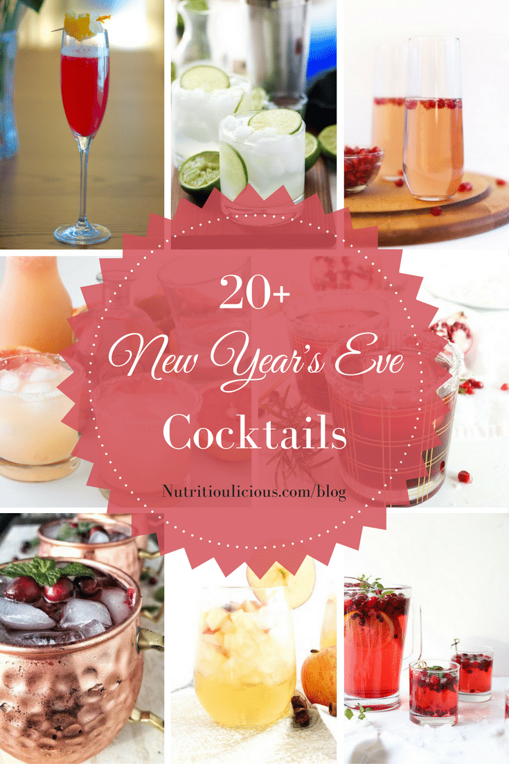Ring in the new year with 20+ New Year's Eve cocktail recipes perfect for the season! Check them all out @jlevinsonrd.