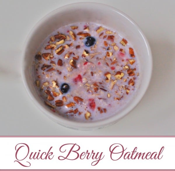 Start your day with gluten-free, creamy quick-cooking oatmeal that will satisfy your taste buds and keep your belly satiated throughout the morning. With a hint of sweetness from berries and maple syrup, and a bit of crunch from nutrient-rich walnuts. @jlevinsonRD