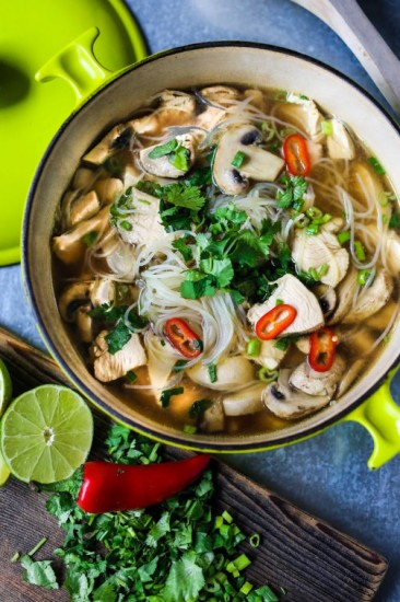 how to make thai soup at home
