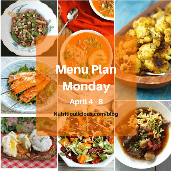 Menu Plan Monday Avoid Food Waste Small Bites By Jessica