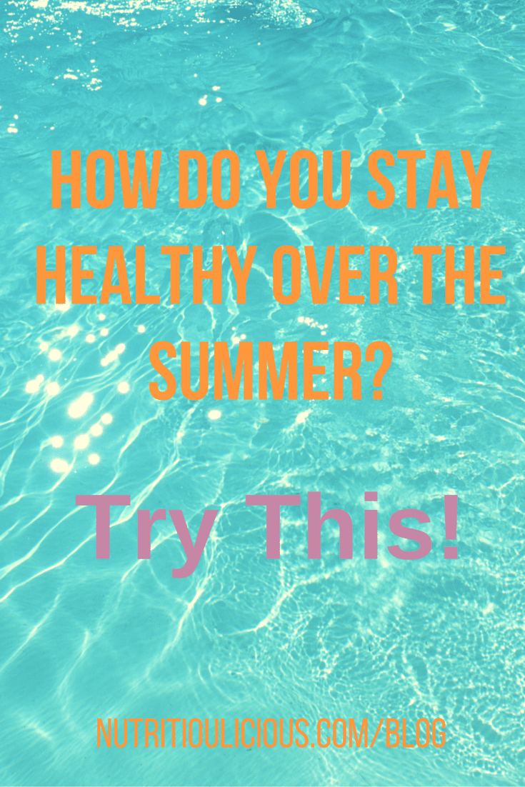 Have fun in the sun and stay healthy this summer with these five tips! @jlevinsonrd