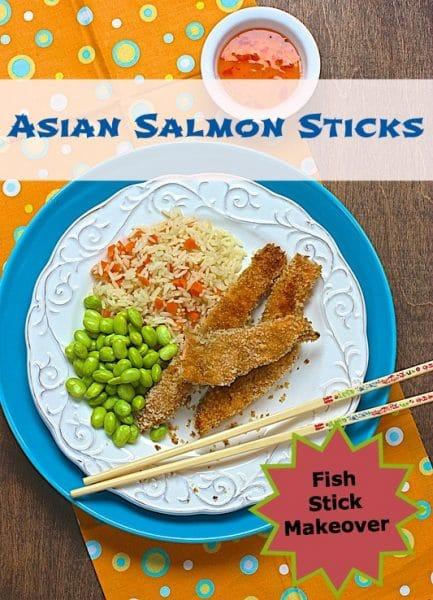 Asian Salmon Sticks @ Meal Makeover Moms