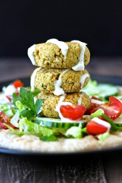 Baked Falafel @ The Foodie Physician