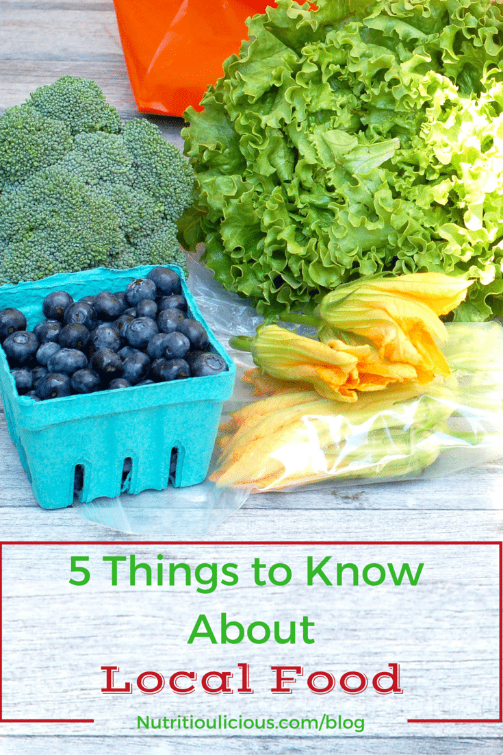5 Things To Know About Local Food