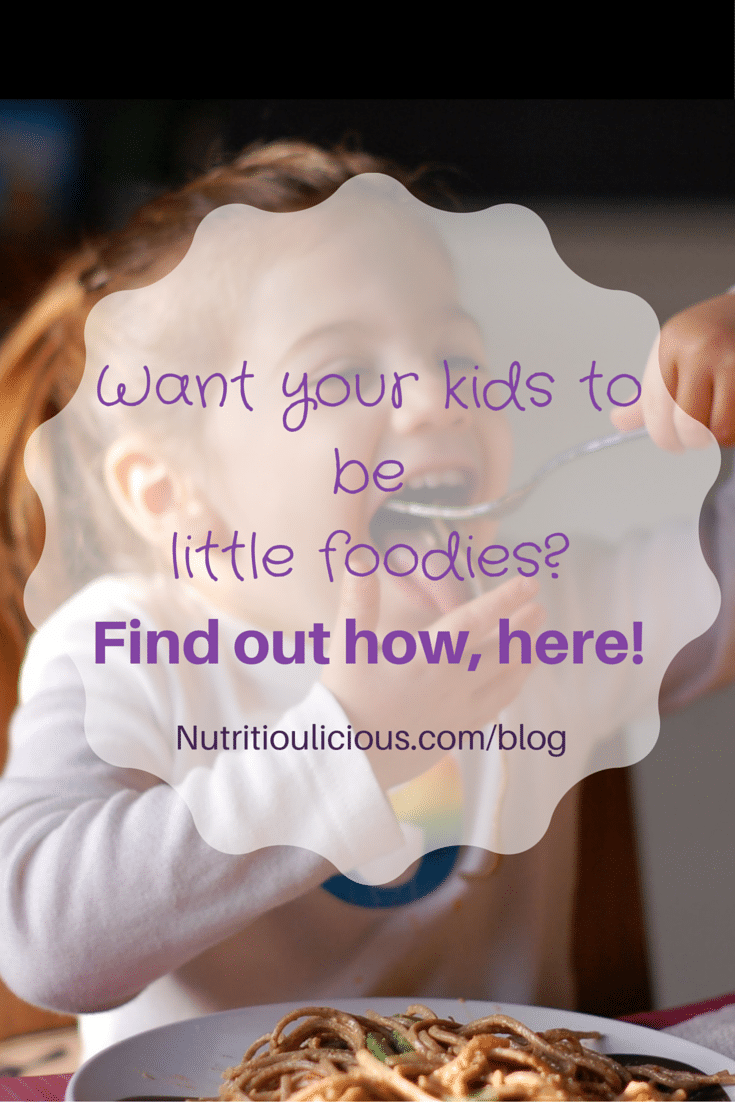 Turn your kids into gourmet foodies by feeding them wholesome, nutritious and delicious food from the start. Learn how to do it with the help of Sonali Ruder's latest book Natural Baby Food. Learn more @jlevinsonrd