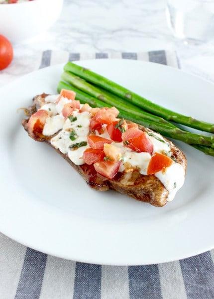 Easy Bruschetta Chicken