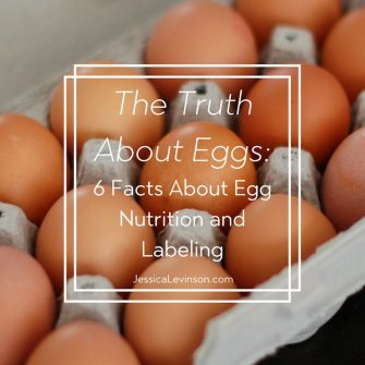 Nutrition myths abound, especially when it comes to eggs. Learn the truth about eggs including six facts regarding their nutrition and labeling @jlevinsonrd.