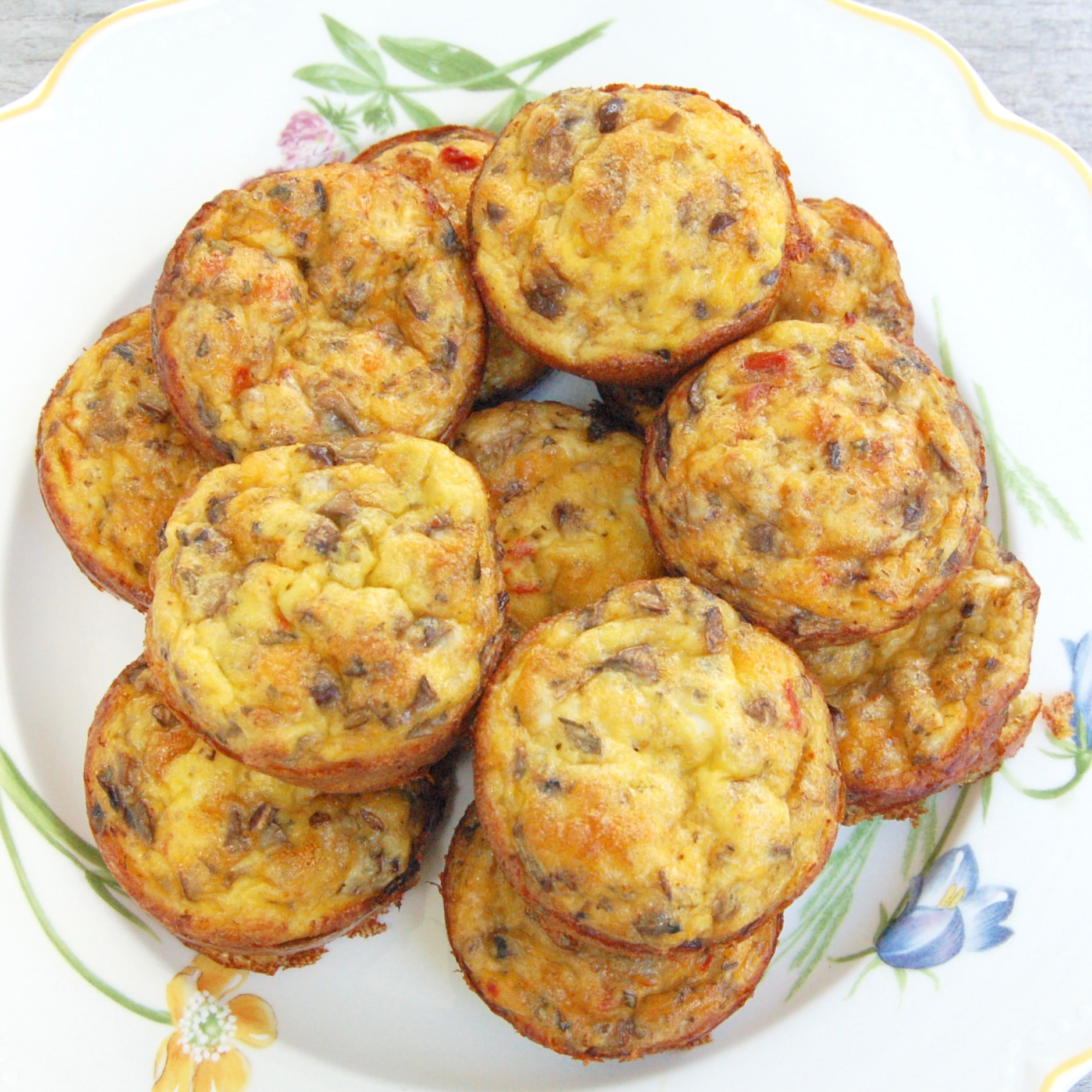 Veggie Egg Muffins are a make-ahead recipe perfect for breakfast on rushed mornings and your children's lunchbox. Easy, healthy, and totally customizable to your family's preferences! Get the gluten-free, vegetarian, and vegan-friendly recipe @jlevinsonrd.