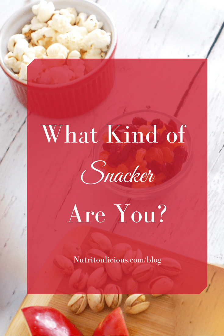 (AD) What kind of snacker are you? Find out and get simple solutions to manage your cravings @jlevinsonrd.