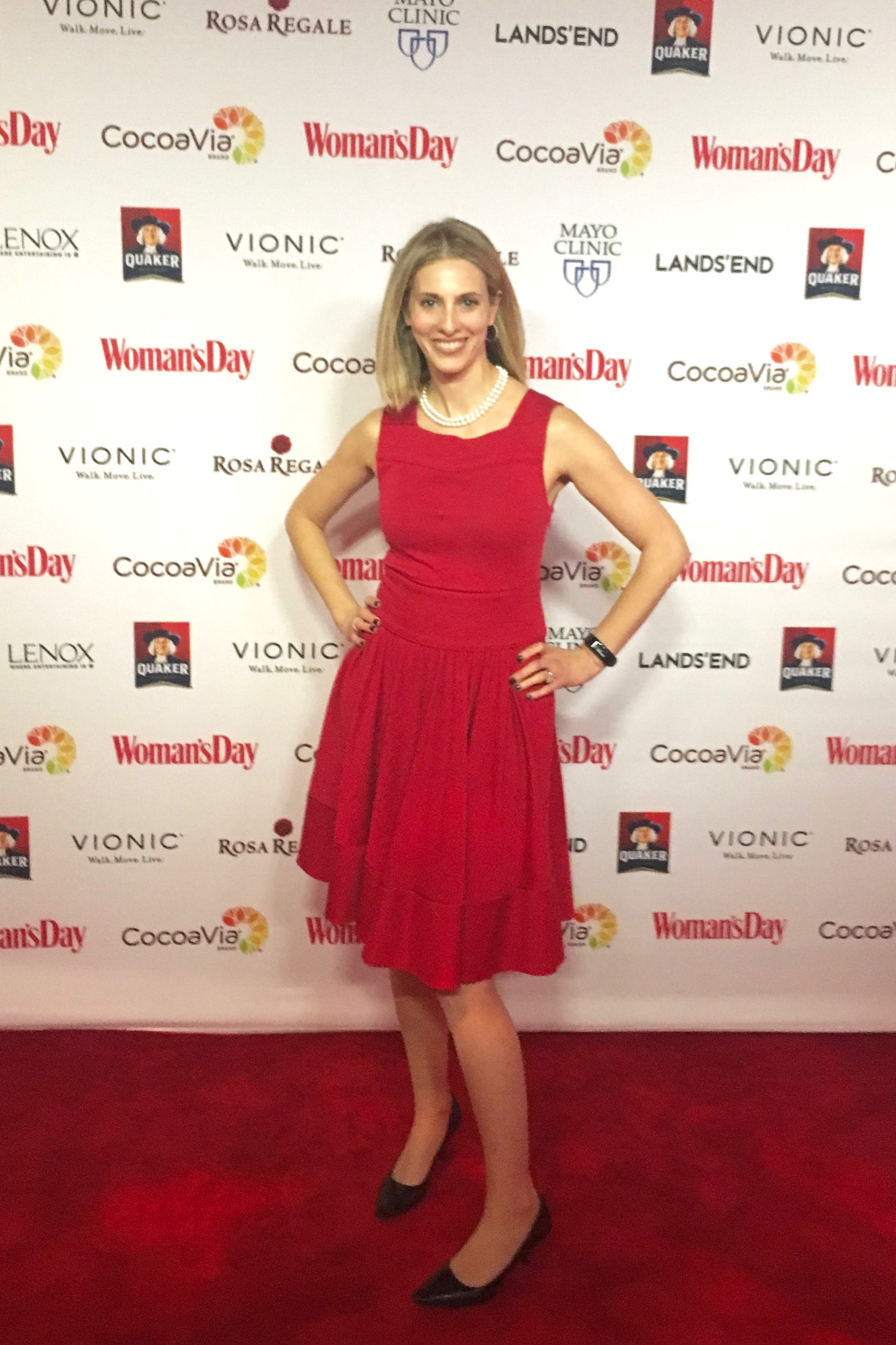 Jessica Levinson at the Woman's Day Red Dress Awards