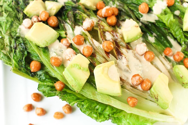 Grilled Caesar Salad - Healthy Memorial Day Recipes
