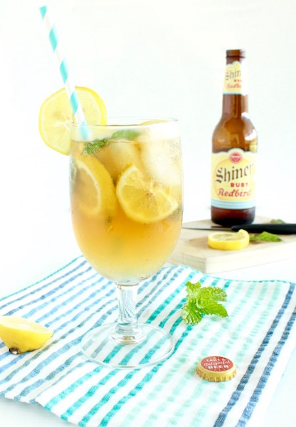 Ruby Redbird Summer Shandy - healthy Memorial Day recipes