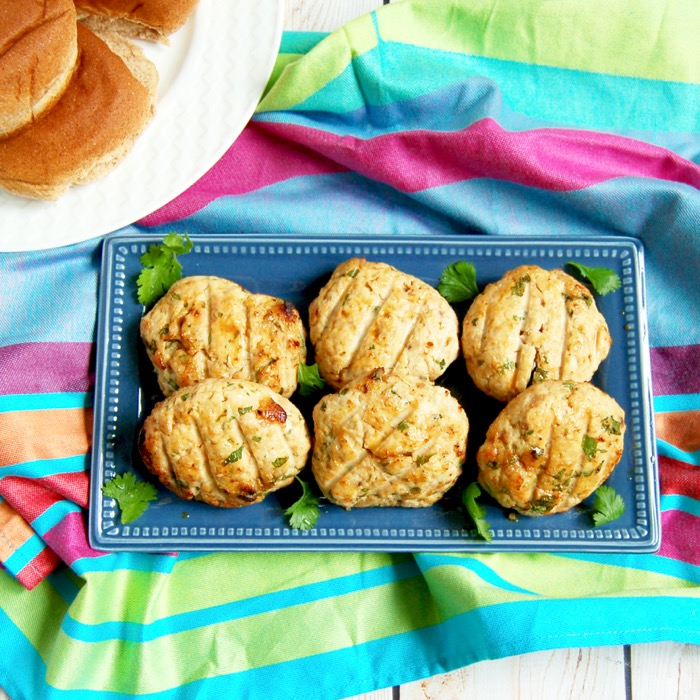 Ginger Miso Turkey Burgers are made with ground turkey breast and white miso for a lean, flavor-packed addition to your summer barbecue! Recipe via JessicaLevinson.com | #glutenfree #dairyfree #burgers #turkey #turkeyburger #miso #healthyrecipes