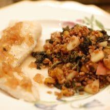 Cider Wheat Berry Salad recipe