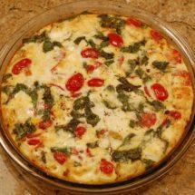 Greek Fritatta Dinner