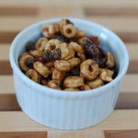 Cranberry-Chocolate Peanut Butter Trail Mix