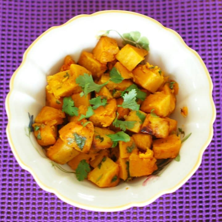Chili-Lime Roasted Butternut Squash