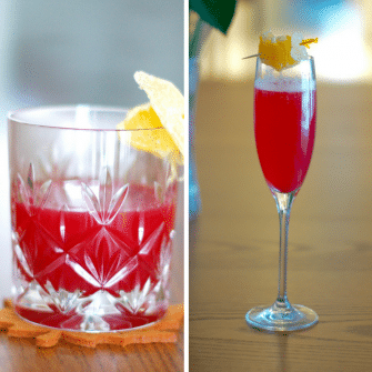 Warm up or stay refreshed with either of these two cranberry cider cocktail recipes, delicious to enjoy all winter long.