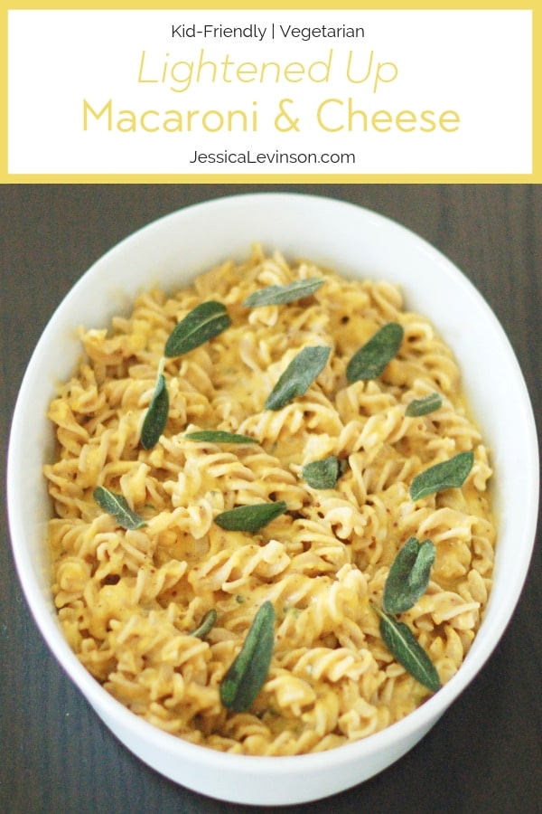 lightened-up macaroni and cheese