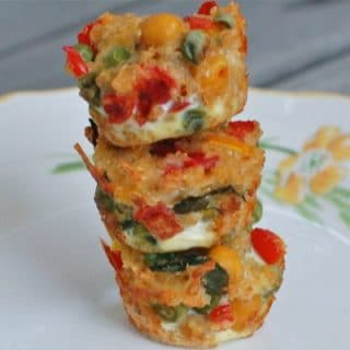 Veggie & Bean Quinoa Bites