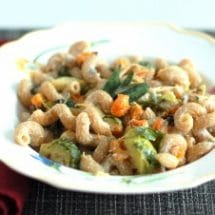 national pasta month healthy recipe
