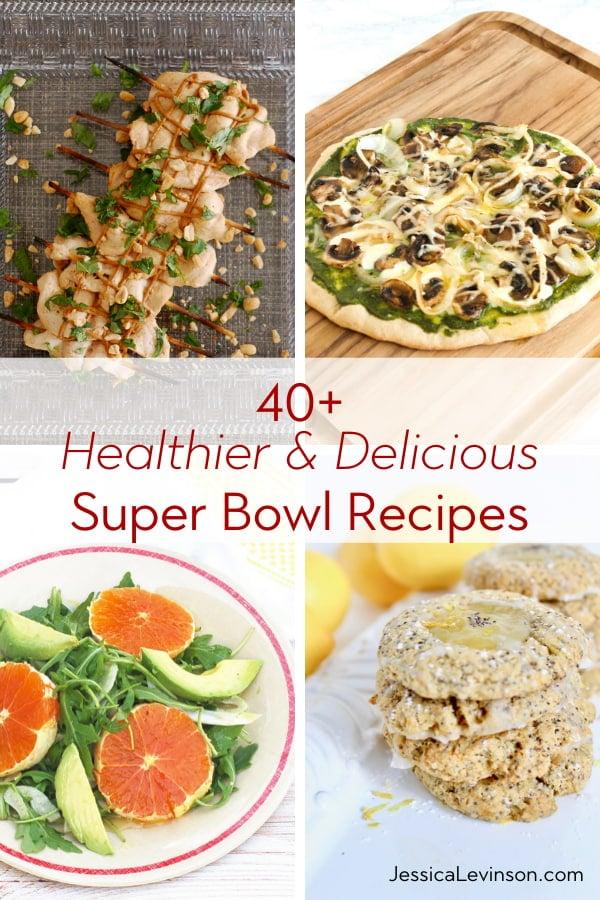 healthier delicious super bowl recipes roundup