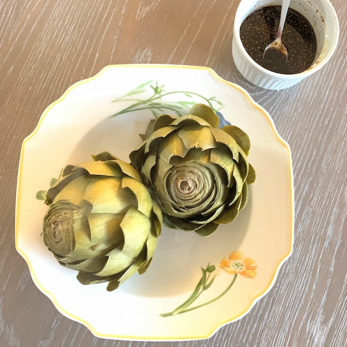 Artichokes Vinaigrette appetizer or side dish