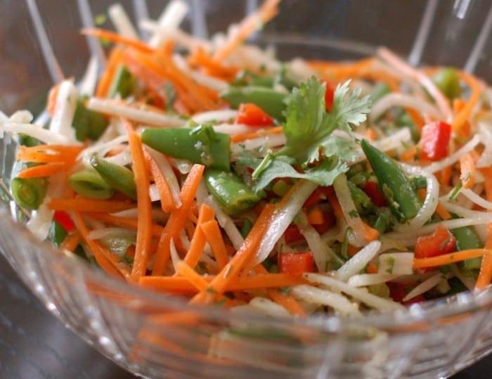 Close Up of Thai Citrus Salad