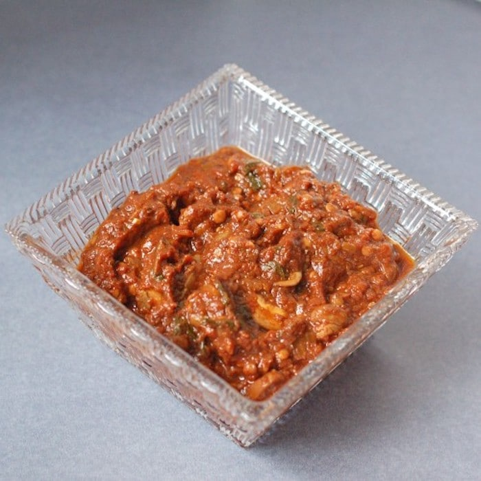 Easy Homemade Tomato Sauce in Glass Dish