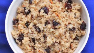 Spiced Plum Cauliflower Rice