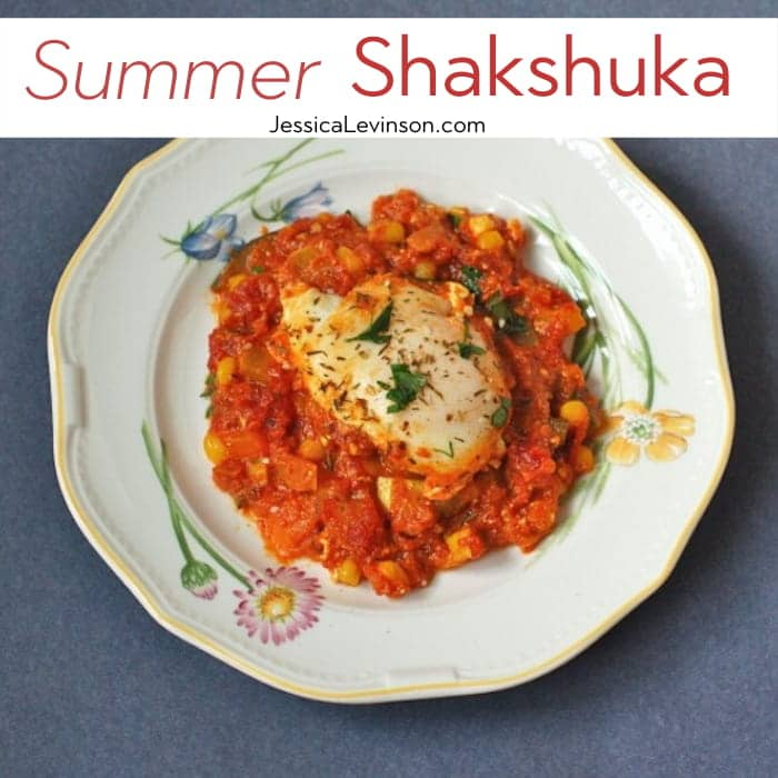 Summer Shakshuka Recipe Square with Text