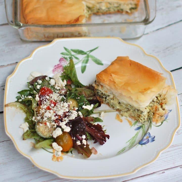 Greek Zucchini Pie