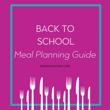 Get ready for back to school meal planning with these healthy and fun recipes, meal ideas, and tips for kids of all ages. You'll find enough recipes to try for the whole school year! via JessicaLevinson.com | #backtoschool #mealplanning #schoolmeals #breakfast #schoollunch #familydinner #healthymeals #feedingthefamily