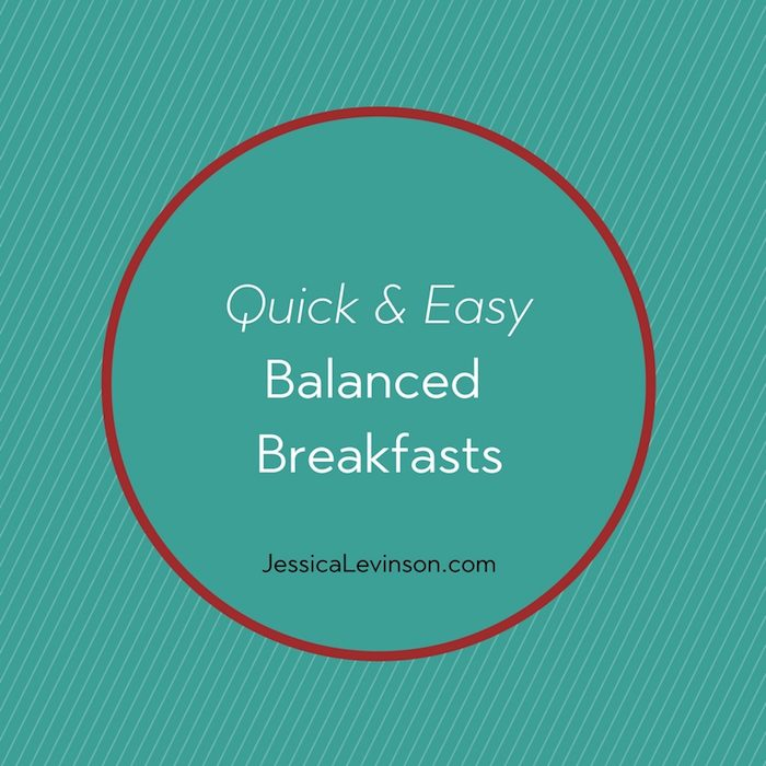 Celebrate Better Breakfast Month with quick and easy balanced breakfast ideas and reap the benefits of a morning meal!